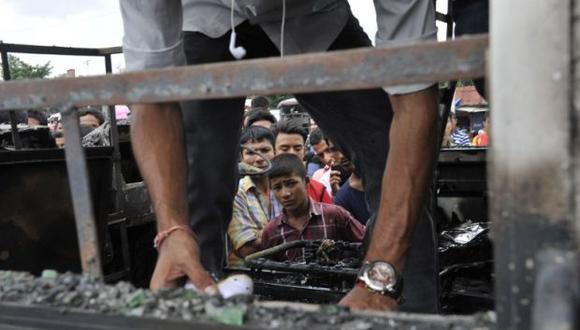 Los accidente de tránsito son frecuentes en Nepal a raíz del mal estado de las rutas, un mal mantenimiento de los vehículos y una forma de conducir peligrosa. (Foto: AFP)