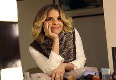 Johanna San Miguel y la tierna postal de su perrita vestida como Queca