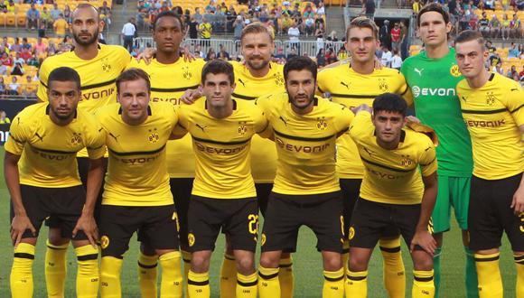 Borussia Dortmund vs. Napoli jugarán un amistoso internacional en Suiza. (Reuters)