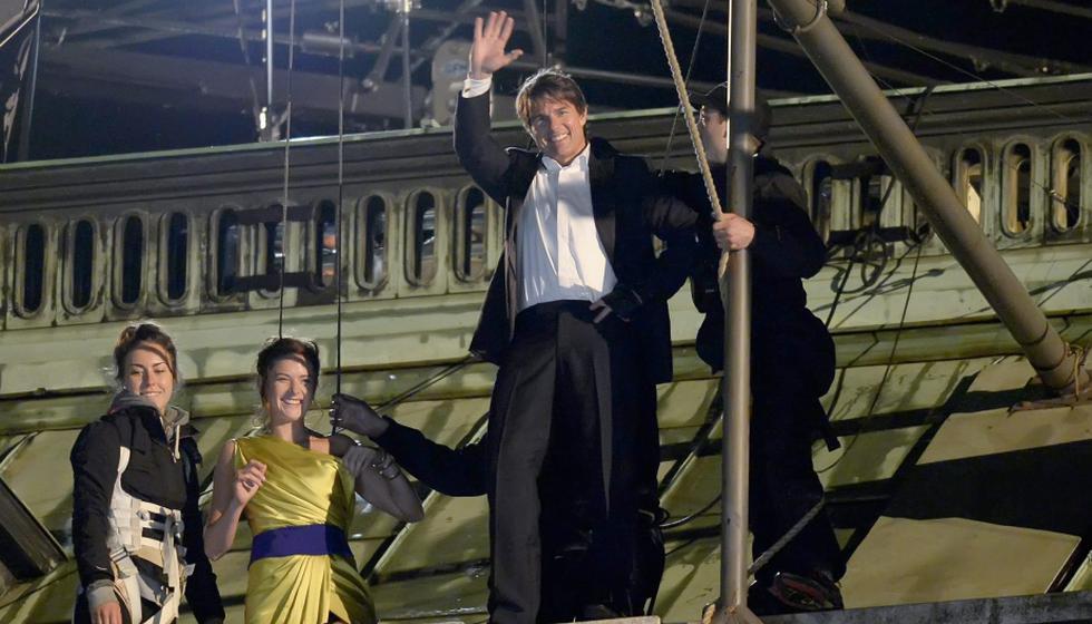 Tom Cruise graba Misión imposible 5 en Austria. (EFE)
