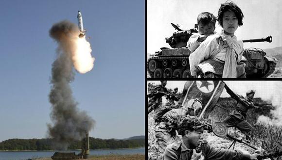 ¿Qué pretende Corea del Norte con estos lanzamientos de misiles? Entérate aquí la historia del conflicto. (Composición)