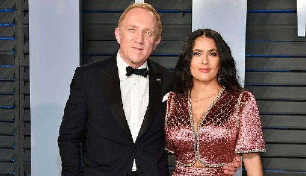 Salma Hayek revela que se ha sentido discriminada por haber casado con un multimillonario. (Foto: AFP)