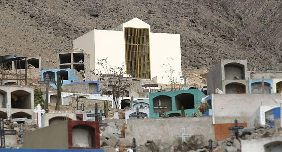 Demolición del Mausoleo de Sendero Luminoso es responsabilidad de Comas, asegura la Fiscalía. (USI)