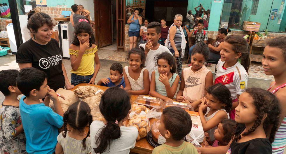 Llevarán alimentos y productos de limpieza. (Banco de Alimentos Perú)