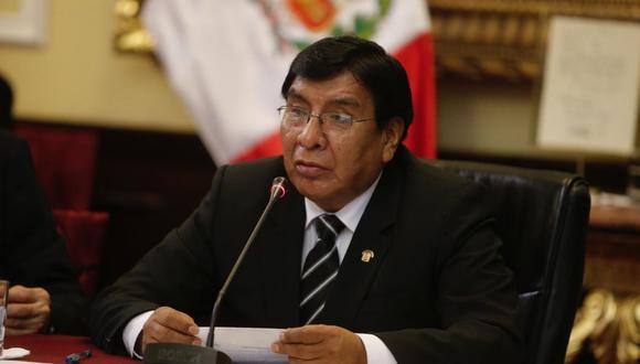 El congresista de Cambio 21 indicó que Fuerza Popular debería hacer una autocrítica. (Foto: Andina)