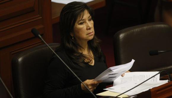 Martha Chávez en el ojo de la tormenta. (Mario Zapata)