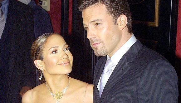 Jennifer Lopez y Ben Affleck se han vuelto a acercar tras 17 años de su ruptura. (Foto:  AFP)