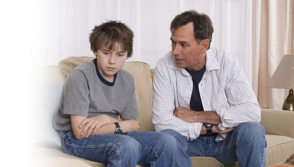 El diálogo es un factor muy importante en el castigo. (Internet)