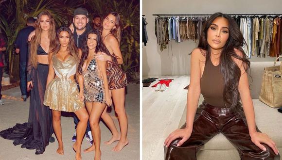 Kim Kardashian envió tierno mensaje a su hermana menor Kendall Jenner. (Foto: Instagram / @kimkardashian / @kendalljenner).