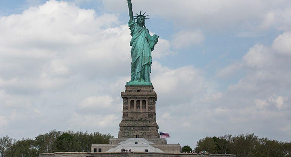 La Estatua de la Libertad. (Getty Images)