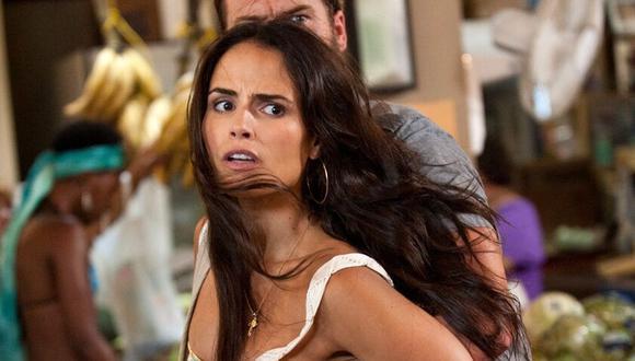 Jordana Brewster es la actriz que saltó a la fama como Mia Toretto, la hermana de Dominic en las películas de Rápidos y furiosos (Foto: Universal Pictures)