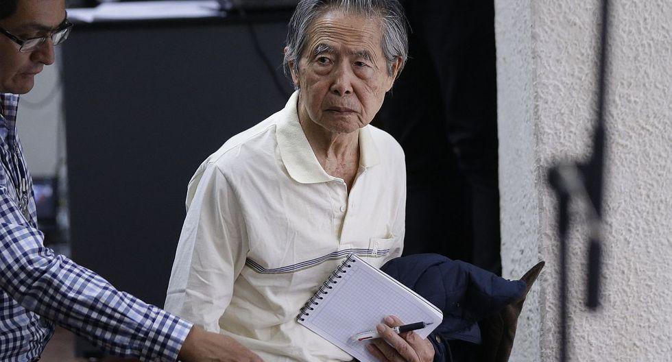 El ex presidente Alberto Fujimori salió libre tras recibir un indulto humanitario el 24 de diciembre del 2017 de manos de PPK. (Foto: USI)