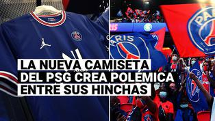 PSG desveló nueva camiseta y los hinchas rechazaron el modelo presentado