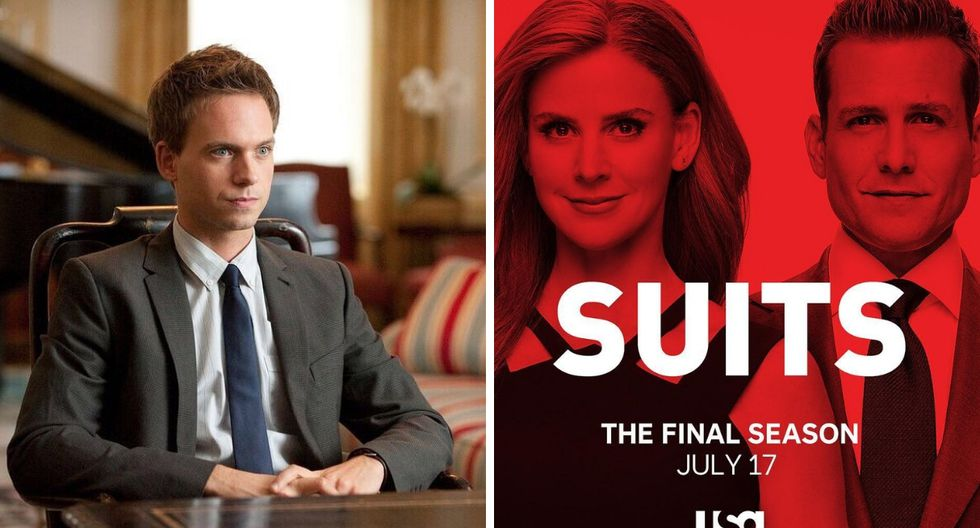 """Suits"": Patrick J. Adams regresará para la última temporada (Foto:@suits_usa)"