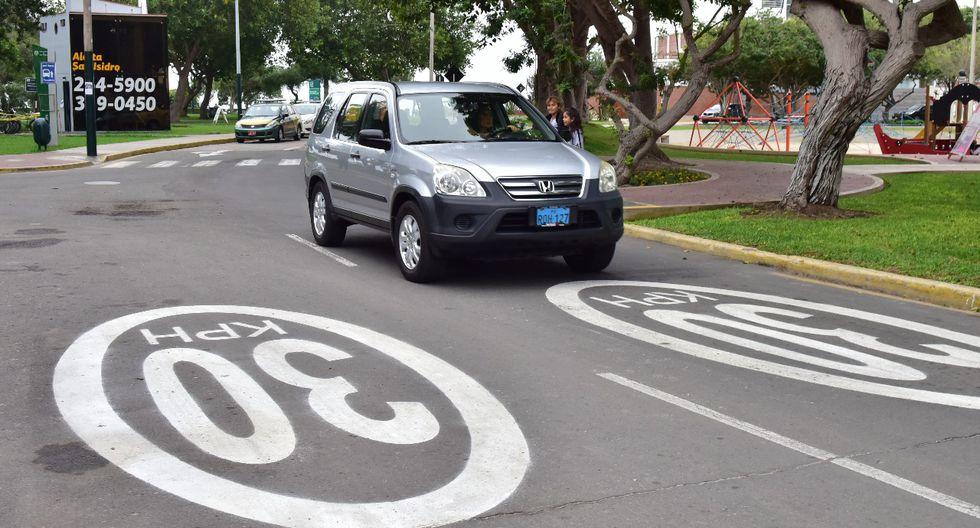 San Isidro: Controladores electrónicos de velocidad operarán en las calles. (Municipalidad de San Isidro)
