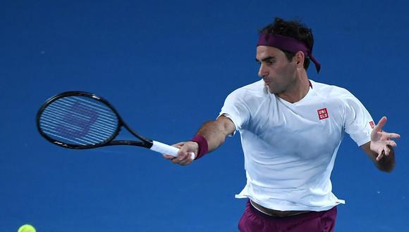 Federer busca igualar el récord de triunfos (7) que tiene Djokovic en el Australian Open. (Foto: AFP)
