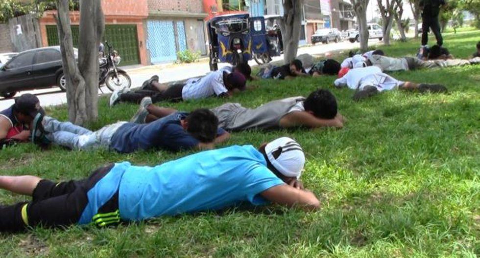 Policía indignada. Los detuvieron en medio de gran despliegue. (Difusión)