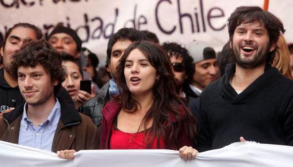 Exdirigentes estudiantiles encabezaron las protestas contra el gobierno de Sebastián Piñera en 2011. (EFE)