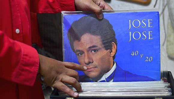 José José falleció este sábado a los 71 años en un hospital de Estados Unidos. (Foto: AFP)