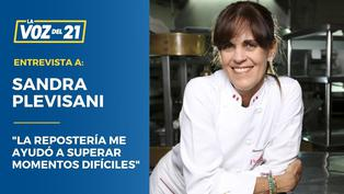 """Sandra Plevisani: """"La repostería me ayudó a superar momentos difíciles"""""""