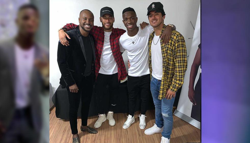 Vinicius Junior celebró junto a Neymar su cumpleaños número 19 en Brasil. (Instagram)