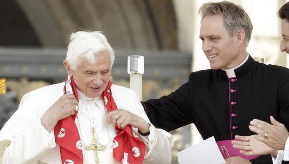 Gabriele permanece recluido en una sala de seguridad de la Gendarmería del Vaticano. (AP)