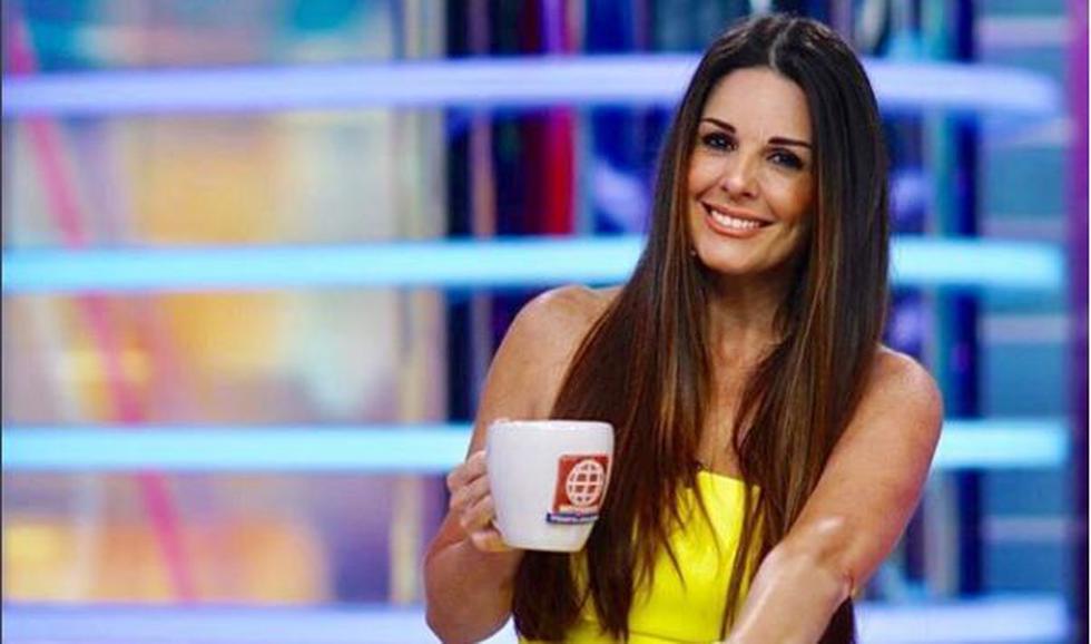 Rebeca Escribens divierte a su público con sus ocurrencias en televisión. (USI)