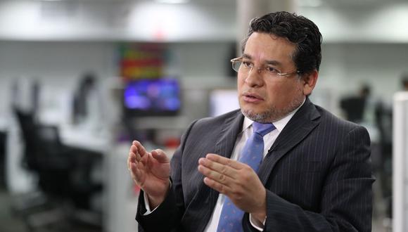 El ministro del Interior, Rubén Vargas, defendió los cambios en la Policía. (Foto: GEC)
