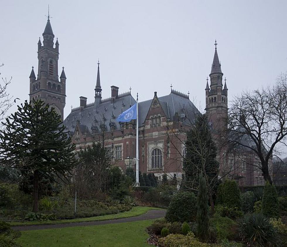 Exteriores de la Corte Internacional de La Haya, en Holanda. (AP)