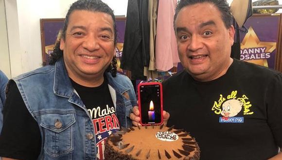"""""""¡Gracias amigo por acompañarme tantos años!"""", escribió Jorge Benavides. (Instagram: @jbjorgebenavides)"""