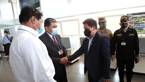 Guido Bellido declaró luego de participar en la inauguración del GORE Ejecutivo en Iquitos. (Foto: PCM)