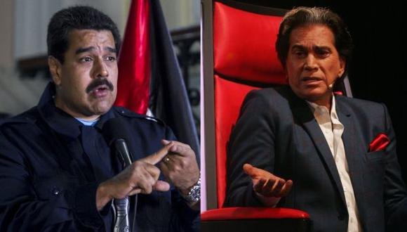 Nicolás Maduro ataca a José Luis Rodríguez El Puma en defensa de Hugo Chávez. (EFE/Perú21)