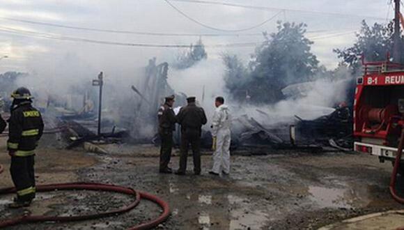 Incendio en asilo de ancianos deja 10 muertos. (Internet)