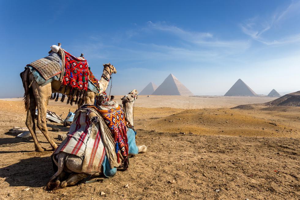 Las pirámides de Egipto te sorprenderán con todo su esplendor. (Foto: Difusión UTP)