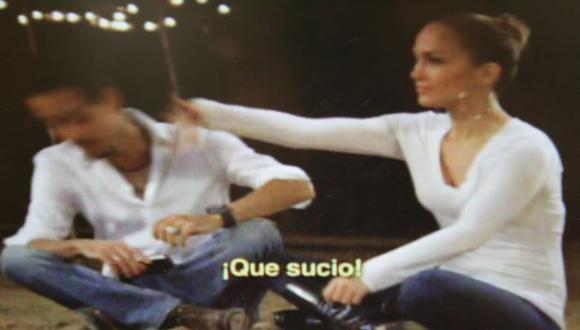 No le gustó broma de su ex. (Imagen de TV)