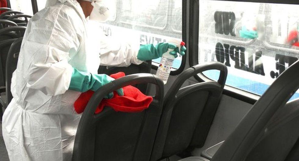 ATU indicó que se está haciendo todos los esfuerzos para mantener las unidades de transporte público limpias y desinfectadas durante la emergencia por coronavirus. (Foto: Difusión)