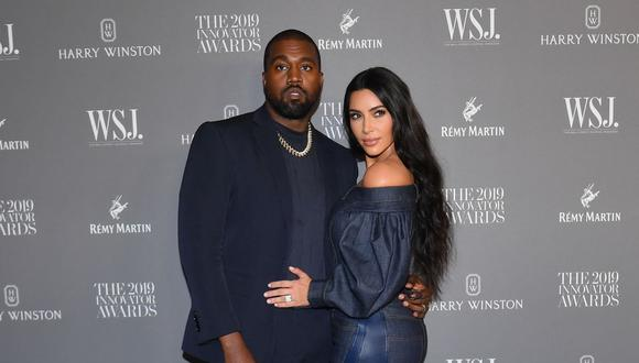 Kanye West y Kim Kardashian tuvieron un matrimonio de siete años, y tienen cuatro hijos. (Foto: Angela Weiss / AFP)