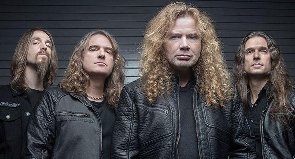 Se viene el regreso del líder de Megadeth, Dave Mustaine, en octubre.  (Foto: @Megadeth)
