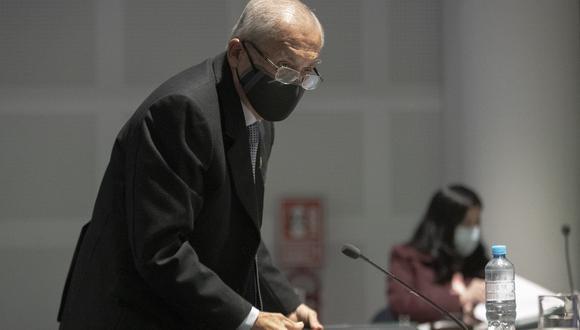 Pedro Chávarry se presentó hoy ante el Pleno de la Junta Nacional de Justicia. (Foto. GEC)