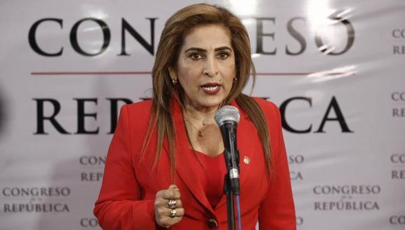 Maritza García descartó renunciar a su cargo. (Renzo Salazar)