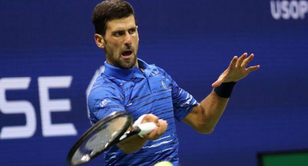 Ganador de los cetros de este año en el Abierto de Australia y en Wimbledon, Djokovic busca su cuarto campeonato en el U.S. Open y su 17mo en majors. (Foto: AFP)