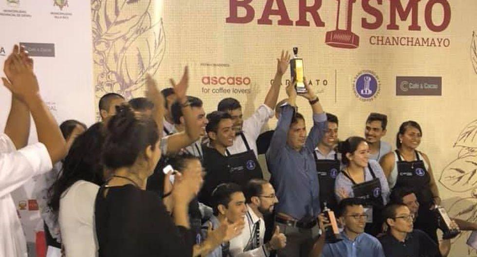 Café peruano: Anibal Kovaleff es el nuevo ganador del VI Campeonato Nacional de Barismo. (Facebook)