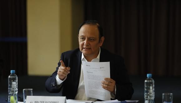 """Defensor del Pueblo calificó de """"positivo"""" el acuerdo entre los partidos Fuerza Popular y Perú Libre para la realización de dos debates. (Foto: Miguel Yovera /@photo.gec:)"""