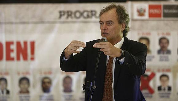 Ministro Basombrió indicó que comenzarán los interrogatorios. (Renzo Salazar)