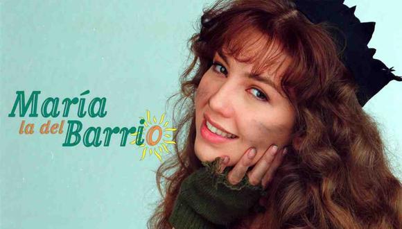 """""""María, la del barrio"""" es una telenovela mexicana que batió récords de audiencia y se convirtió en un fenómeno televisivo mundial (Foto: Televisa)"""