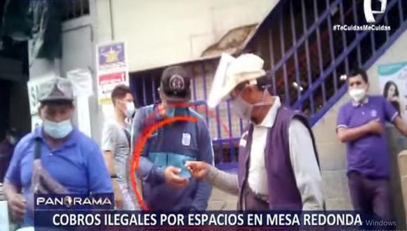 Los vendedores informales pagan 3 soles al día para poder vender en Mesa Redonda. (Panorama)