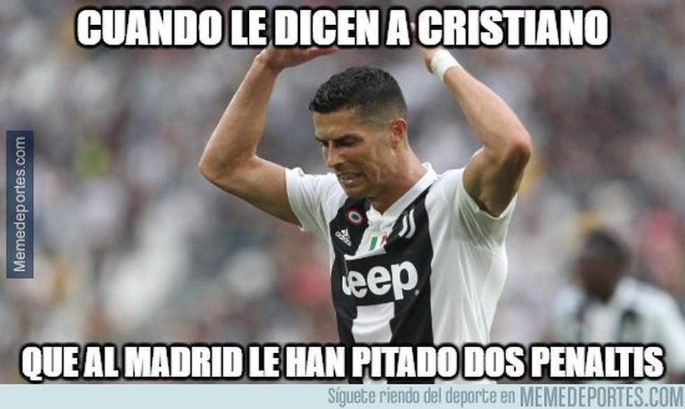 Real Madrid y los memes tras vencer al Girona. (Foto: Facebook)