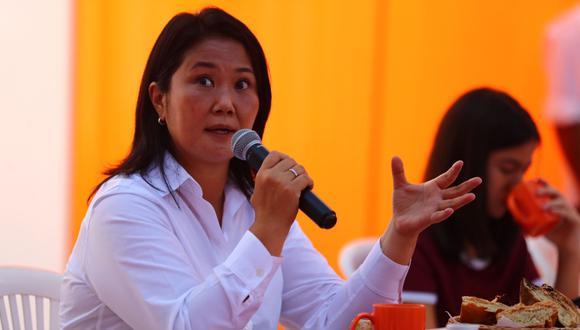 Keiko Fujimori sostuvo que será respetuosa del sistema de administración de justicia. (photo.gec)