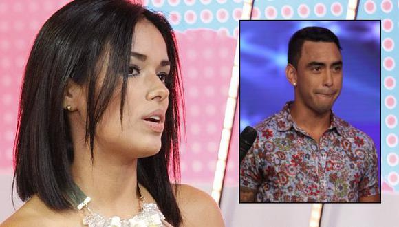 Shirley Arica confesó que Diego Chávarri le tiró una cubeta de hielo durante una discusión. (USI)