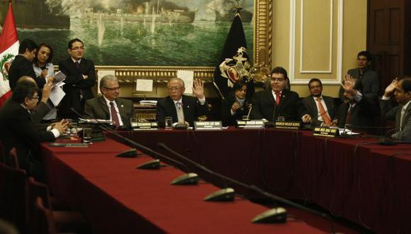 Mal vistos. El trabajo de la Comisión de Ética incomoda al oficialismo y sus ocasionales aliados. (Rochi León)